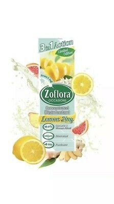 Zoflora 250ml,mrs hinch, Lemon Zing,3in1,disinfectant,cleaner Limited Edition