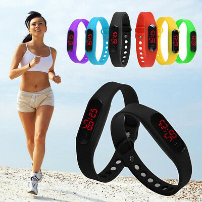 New Designer Fashion Silicone Watch Sports  LED Watch digital Wrist Watch E&F