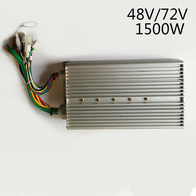 48V~64V 1500W Electric Bicycle Brushless Motor Controller for E-bike Scooter kit