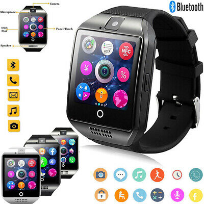Q18 Smart Wrist Watch Bluetooth Waterproof GSM Phone For Android Samsung Phone