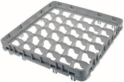 Cambro half Height Korbaufsatz for Glass Rack 36 Compartments Width 500mm