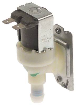 "Solenoid Valve Exit 11,5mm 1 Compartment Angled Input 3/4 "" Blue 24vac"