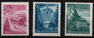 1951 YUGOSLAVIA  Mountaineering Association Meeting MNH
