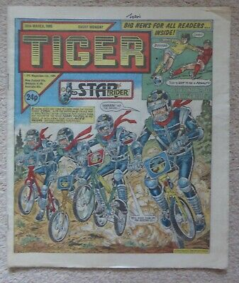 Tiger comic - FINAL ISSUE - 30 March 1985 (30.3.85)