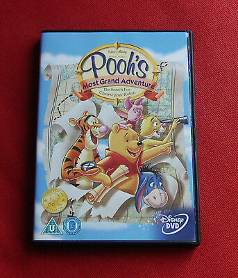 Pooh's Most Grand Adventure - The Search For Christopher Robin - Region 2 DVD