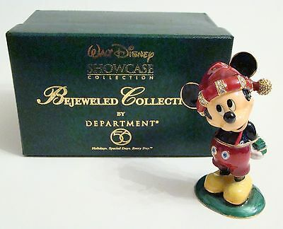 Disney Mickey/'s Top Hat Jeweled Hinged Box Department 56