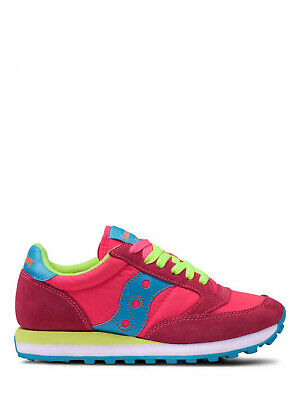 differently 35752 50ccf Scarpa SAUCONY Jazz original sneaker pink yellow donna (1044 293 S19)