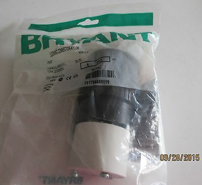 Bryant Hubbel Locking Connector -Nylon NEMA L5-20 20A-125VAC