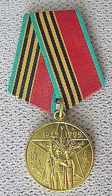 40years. RUSSIAN SOVIET MILITARY WWII WAR MEDAL ORDER AWARD ARMED USSR BADGE PIN