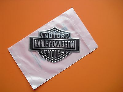 HARLEY  NAMEPLATE Medallion  BAR&SHIELD  Peel and stick anywhere MADE IN USA
