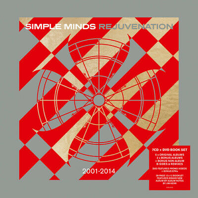 Simple Minds : Rejuvenation: 2001-2014 CD Box Set with DVD 8 discs (2019)