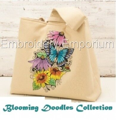 Blooming Doodles Collection - Machine Embroidery Designs On Cd Or Usb