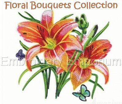 Floral Bouquets Collection - Machine Embroidery Designs On Cd Or Usb