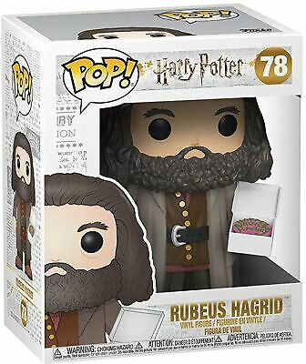 Funko Harry Potter Hagrid with Cake 6 Inch Pop! Vinyl Collectable Figure #78