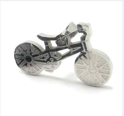 Fashion jewelry 316L Stainless Steel  Bick Bicycle Pendant Womens Mens Necklace