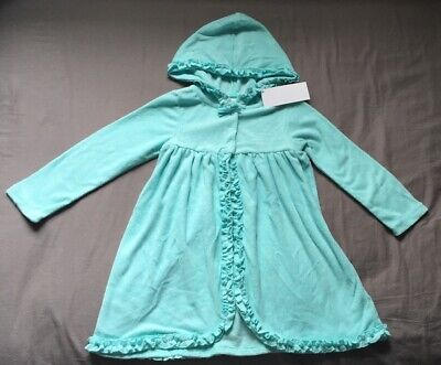 6e0b741e6ed30 Toddler Girl Size 3 3T Gymboree Hooded Turquoise Terry Swim Cover Up