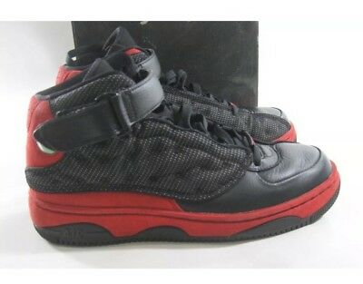 competitive price 6a460 7dab7 Men s 10.5 Nike Air Jordan AJF 13 Black Varsity Red White 375453-061