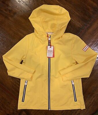 4fce7c7c3 BNWT HUNTER FOR Target Kids Packable Raincoat Jacket Size 5T Yellow ...