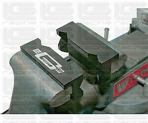 ALUMINIUM VISE jaws from ACCEL (SOFT JAWS)