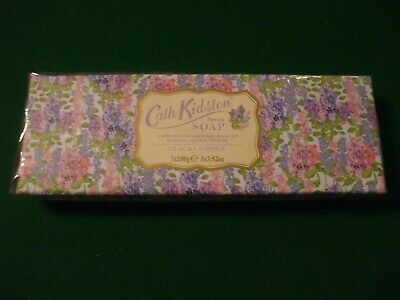 Cath Kidston - SOAP 3 x 100g Soap Gift Set Lilac & Lavender - NEW/SEALED