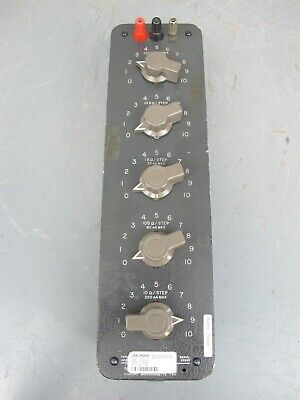 GR General Radio Decade Resistor Resistance Box Type 1432-P