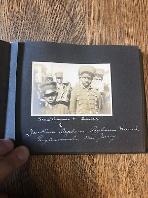 50 Page Antique Photo Album From Late 1800's To Early 1900's- NY