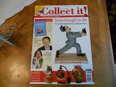 Collect It Mag #118 Eric Knowles Perfume Atomiser Advertisements Guinness Dolls