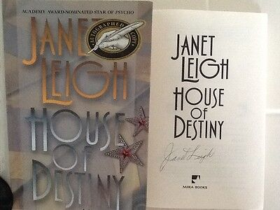 Janet Leigh SIGNED Novel Hollywood Vaudeville HC/DJ  Psycho Star