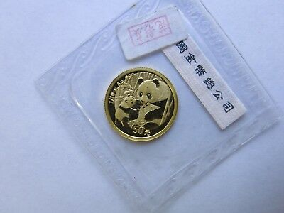 2005 1/10 oz China Gold Panda 50 Yuan Sealed Chinese Coin