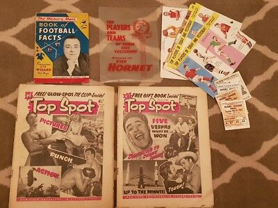 Rare Top Spot Bd Journal Éditions 1 And 2 1958 Magazine Vintage UK Pack