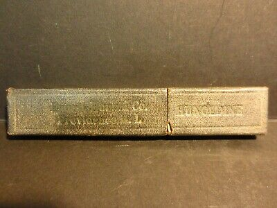 Antique F.A. Clauberg straight razor N.Y. Germany Tonsorial Gem