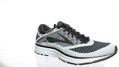 2cfe614cc8575 Brooks Mens Revel White Anthracite Black Running Shoes Size 11 (241512)