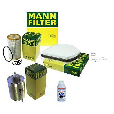 MANN Filter-Paket + Klima-Fresh für Mercedes-Benz SLK Crossfire Roadster