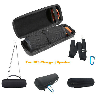 For JBL Charge 4 Bluetooth Speaker Travel EVA Carry Case Portable Shoulder Bag
