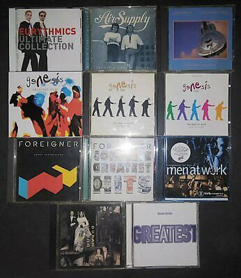 Air Supply Dire Straits Duran Duran Eurythmics Foreigner Genesis Men At Work Lot