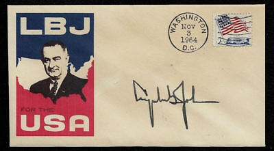 Lyndon B Johnson LBJ 1964 Campaign Ltd Edt Collector Envelope OP1330