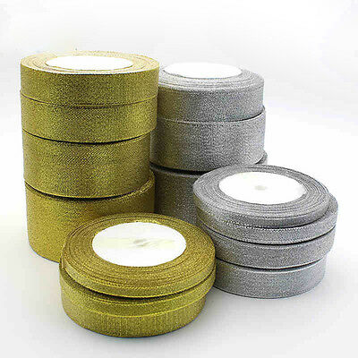 Silk Satin Ribbon 25yards Wedding Party Festive Decoration Craft Gifts Wrapping&