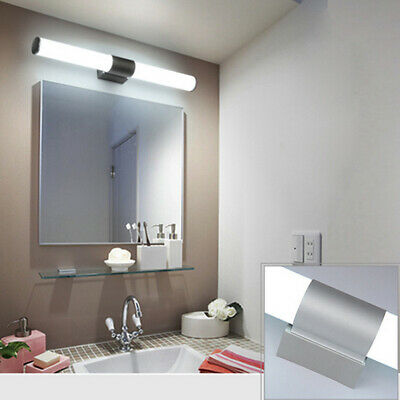 US Bathroom Toilet Vanity Wall Makeup Light Mirror Front Waterproof LED Lamp