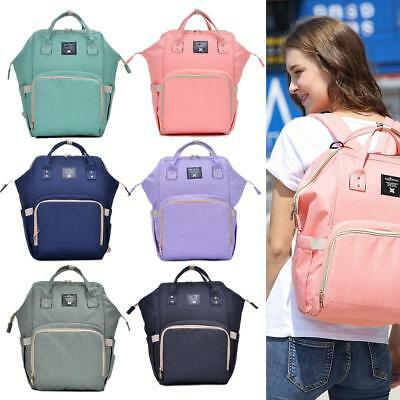 Large Mummy Backpack Baby Diaper Nappy Rucksack Multifunction Mommy Bag Changing