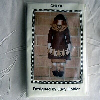 Chloe Doll kit designed by Judy Golder, with instructions ,fabric to complete