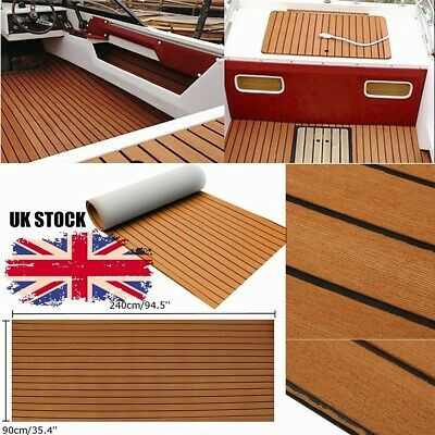 EVA Foam Marine Flooring Teak Boat Decking Carpet Yacht Floor Mat 95''X35''