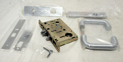 Yale 8708 FL Mortise Lockset Right Hand - Mechanical, Industrial