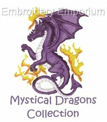 Mystical Dragons Collection - Machine Embroidery Designs On Cd Or Usb