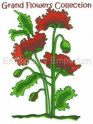 Grand Flowers Collection - Machine Embroidery Designs On Cd Or Usb