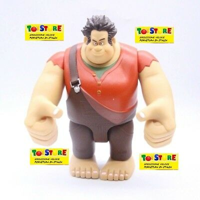 FIGURE RALPH SPACCAINTERNET SHANK 10 CM SPACCATUTTO CINEMA BANDAI #1