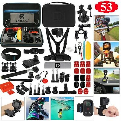 GoPro Accessories Set Hero 5 Black 6 4 3 HD Action Camera Sport Kit Pack Bundle