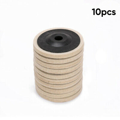 10x Buffing Wheel Polishing Disc Pad For Angle Grinder For Metal Stainless Steel
