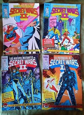 Secret Wars II Forum Lote (5 números)