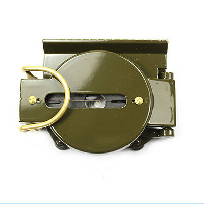 EF Army Aluminum Military Lensatic Marching Compass Pop US9