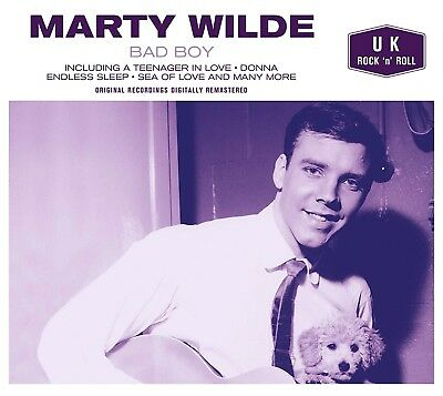 MARTY WILDE ~ NEW SEALED CD Bad Boy ( Greatest Hits / Best Of )